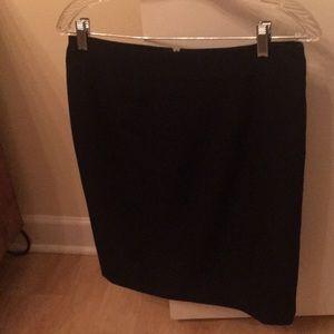 Calvin Klein work pencil skirt navy
